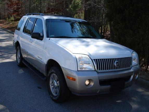 02 Mercury Mmountaineer 4 Door Awd 4x4 Clean Carfax