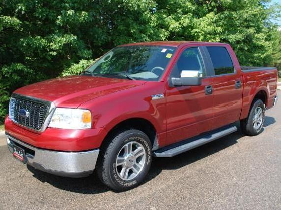 07 ford f 150 crew cab pick up truck local trade in