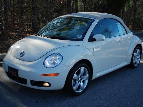 Volkswagen New Beetle In Wake Forest Used Convertible Mitula Cars