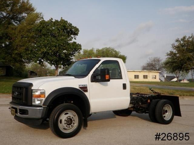 '08 4wd F550 6.4 Powerstroke <strong>Diesel</strong> Xl Reg Cab New 9' <strong>Flatbed</strong> Drw We Finance!
