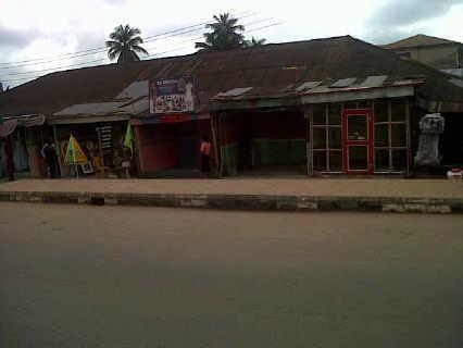 100 By 120 Land Contain Shop, Facing Main Sapele Road