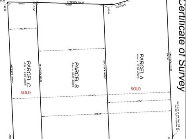 10 Acre Country Building Site, Walkout Ready Cokato