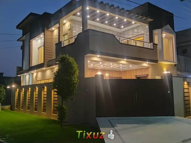 10 Marla Brand New House For Sale In Sheikh Maltoon Townsector G