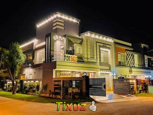 10 Marla Brand New Luxurious Corner House For Sale In Bahria Town Lhr