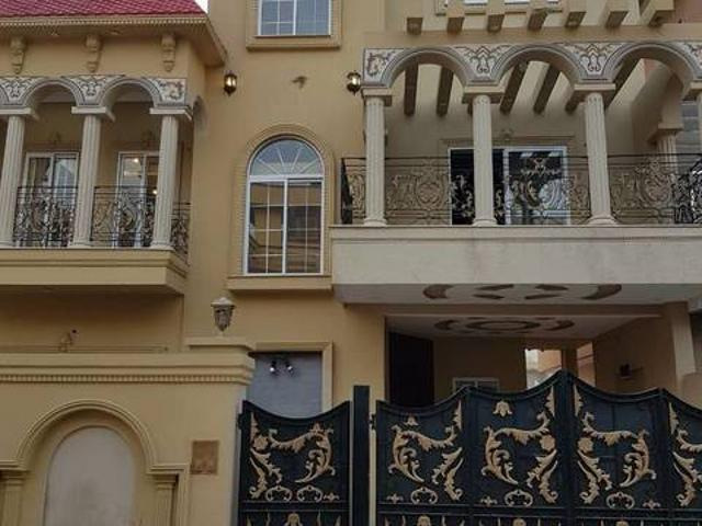 10 Marla House For Sale In Beautiful Pak Arab Housing Society