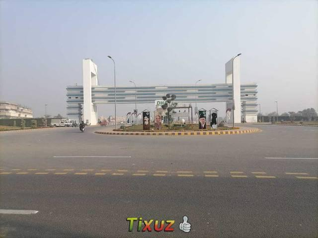 10 Marla Residential Plot For Sale In Sector B1 In Dha Defence Multan