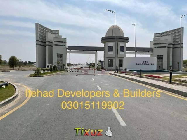 10 Marla Residential Plot Is Available In Dha Defence Bwp Sector D