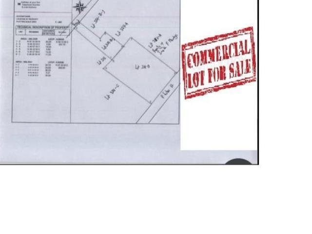 1140 Sqm Commercial Lot For Sale