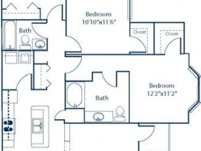$1257 / 3br 1541ft² Spacious 3br With Wooded View And W/d! Largest Floorplan Around! West ...