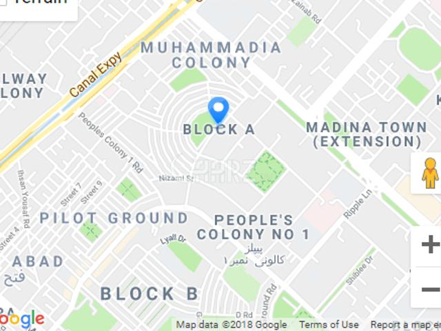 127 Marla Residential Land For Sale In Faisalabad Block A