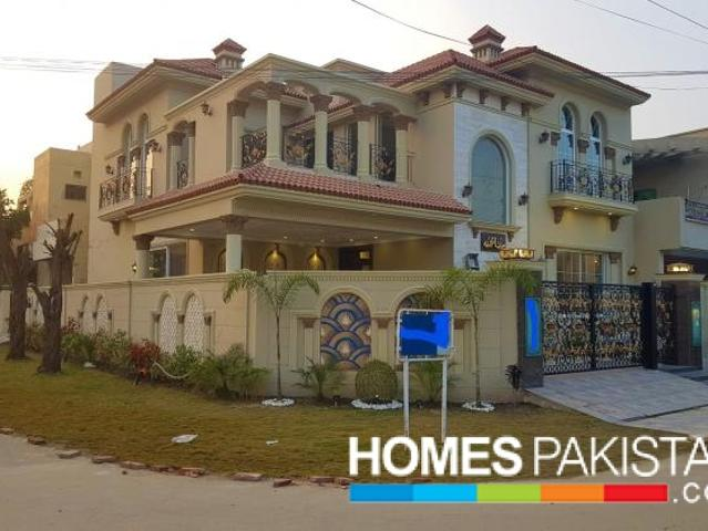 13 Marla Corner Spanish Bungalow For Sale In Phase 8