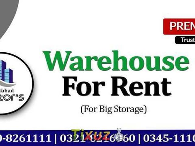 15000 Sq Ft To 2 Lac Sq Ft Covered Warehouse Available For Rent At Fsd