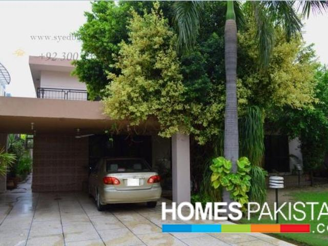 18 Marla Brand New Bungalow For Sale Pcsir Society