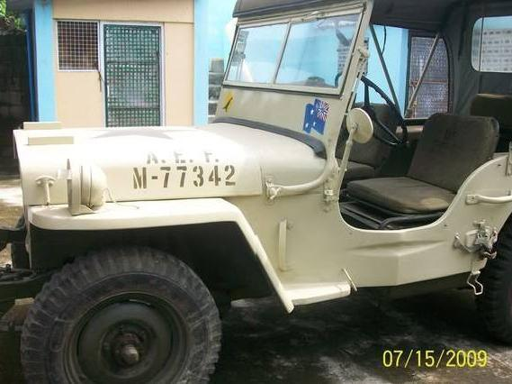 1943 <strong>Willys</strong> Military Australian Jeep