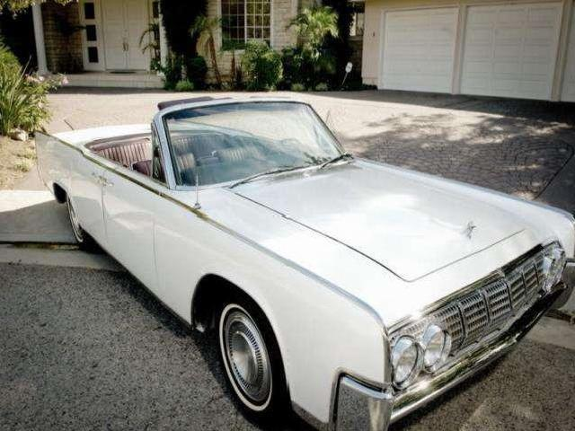 lincoln continental convertible white mitula cars. Black Bedroom Furniture Sets. Home Design Ideas