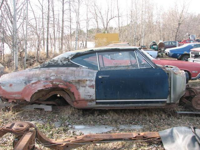 1968 Chevrolet Chevelle Ss 396 Project Car