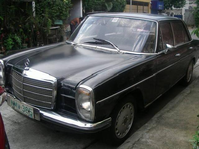 Mercedes benz w115 mitula cars for Mercedes benz w115 for sale