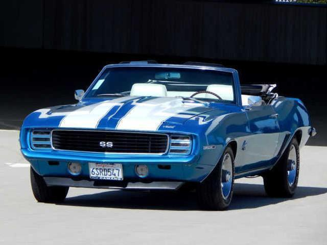 Chevrolet Camaro In California Used Blue 1969 Mitula Cars