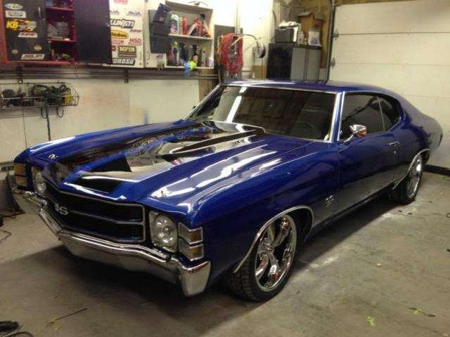 Chevrolet Ss Chevelle 71 Mitula Cars