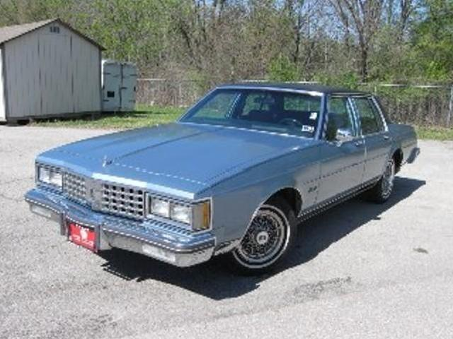 1985 oldsmobile delta 88 sedan royale brougham