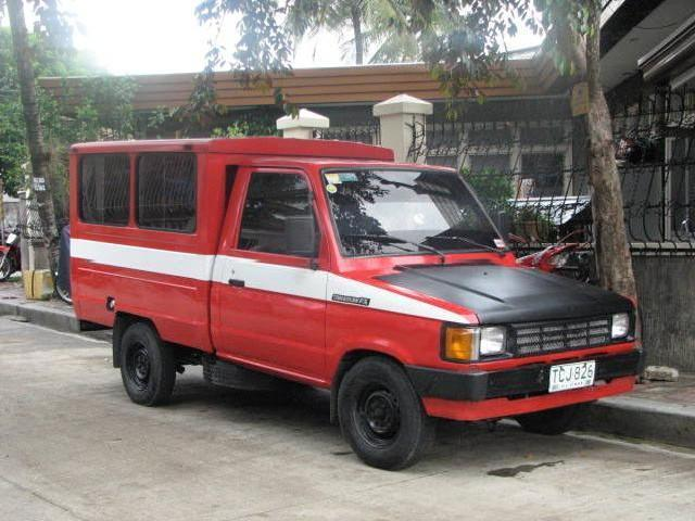 1991 Tamaraw Fx High Side Pick Up With Roof