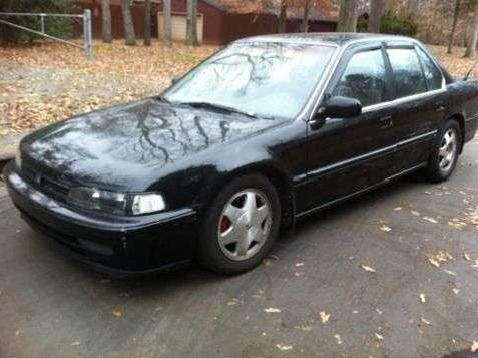 Accord Car Black 1993 Black Honda Accord Custom