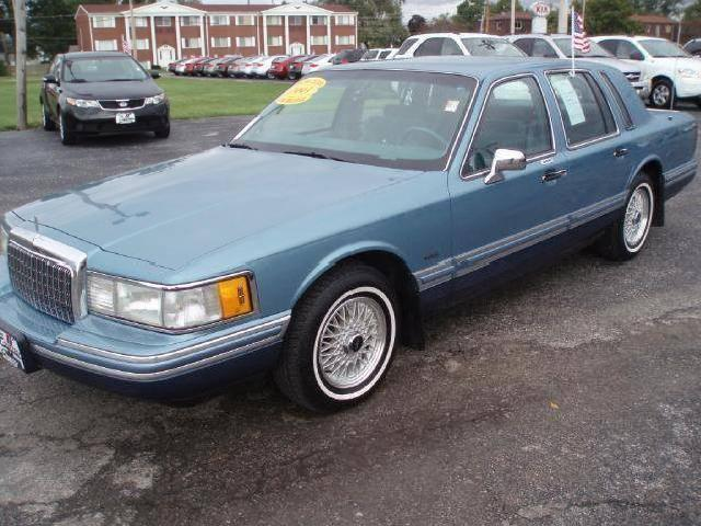 1993 Towncar Lincoln Used Cars