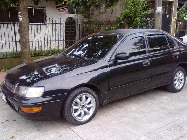 toyota corona black with pictures