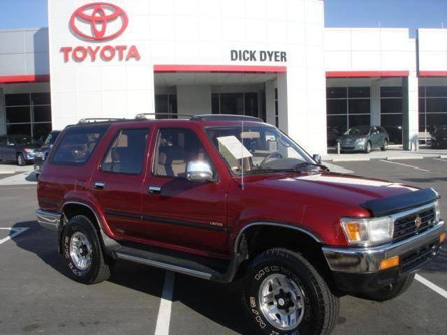 Toyota Runner Used Car