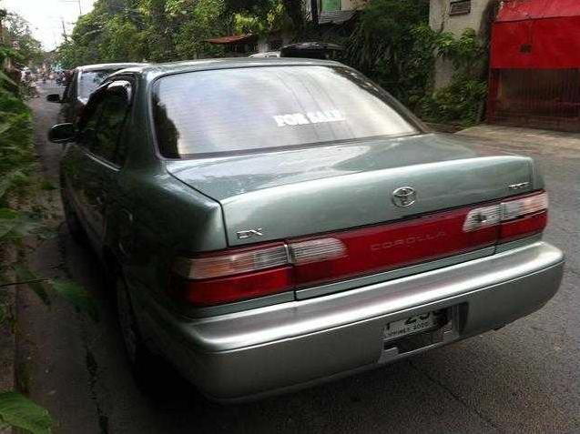 1995 toyota corolla xe us version dx