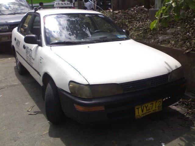 1997 mdl toyota taxi rush for sale