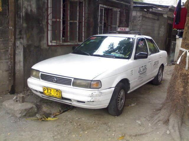 1998 nissan sentra with taxi line up to 2013
