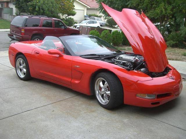 1998 <strong>Supercharged</strong> <strong>Corvette</strong>