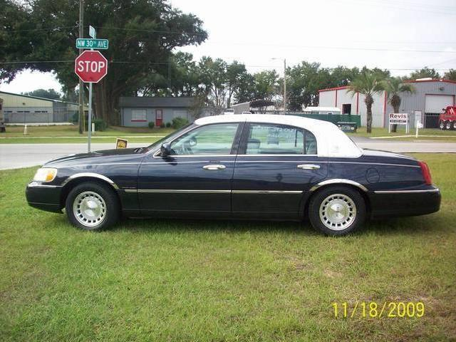 Lincoln Town Car In Ocala Used Lincoln Town Presidential Ocala