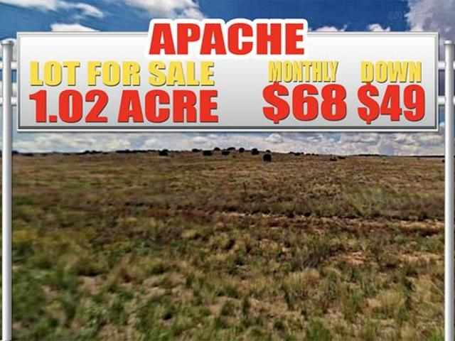 1.02 Acres For Sale In Chambers, Az