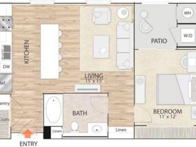 1 Bed 1bath Apartment In The Heart Of The City Irvine Irvine