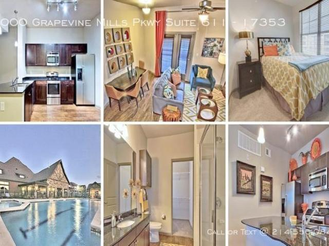 1 Bedroom Apartment Unit Grapevine Tx For Rent At 1052