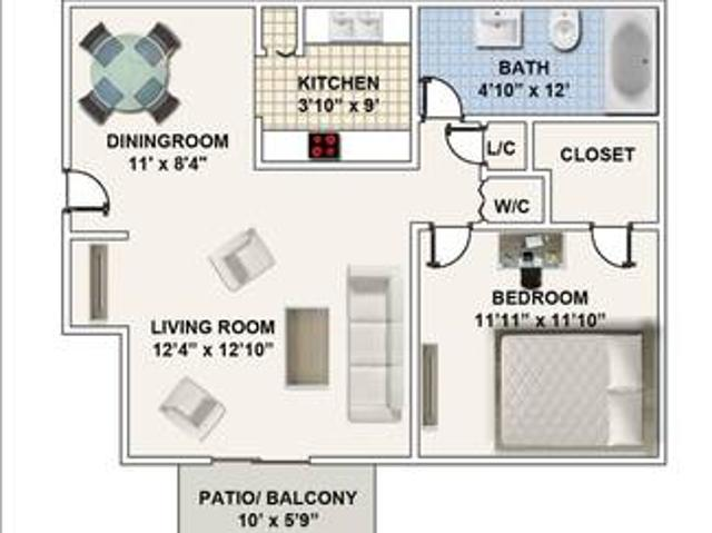 1 Bedrooms The Landings Church Hill
