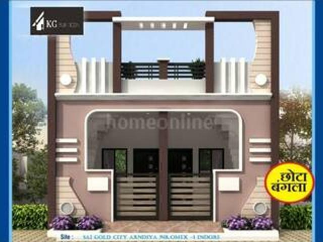 1 Bhk Villa / Individual House 550 Sq Ft In Silver Park Colony, Indore | Property