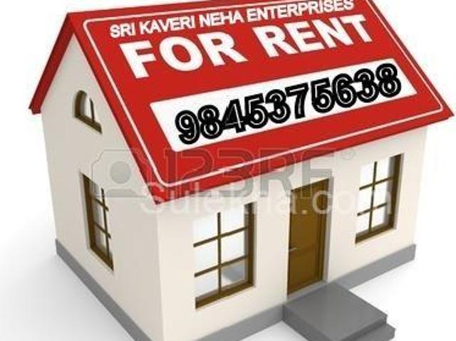 1 Hall Independent House For Rent In Cox Town