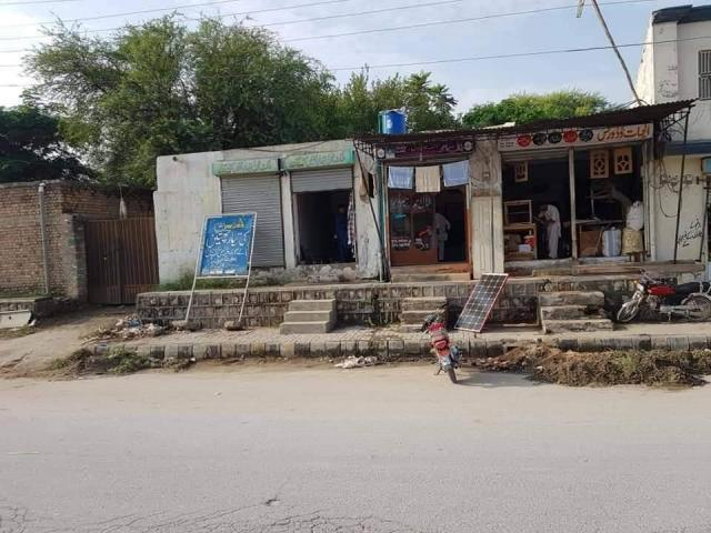 1 Kanal Commercial Plot For Sale H Jis Me 4 Shops H Or 2 Purity House H Main Talagang Chakwal
