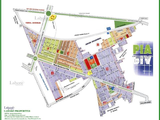 1 Kanal Plot For Sale In Lahore Pia Housing Scheme
