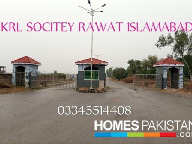 1 Kanal Plot Krl Kechs Employees Cooperative Housing Society Rawat Islamabad