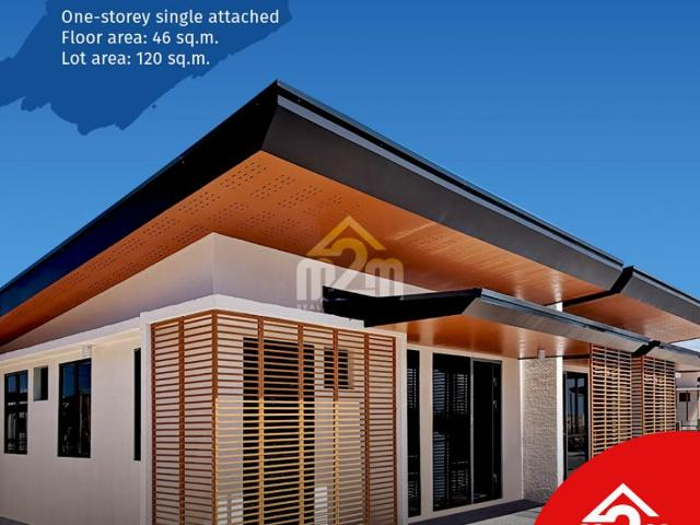 1 Story Single Attached For Sale In Amoa Compostela Cebu