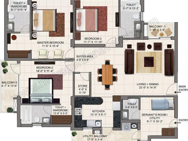 1bhk,2bhk And 3bhk For Sale Green Lotus Avenue