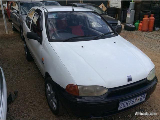 2000 fiat palio 1 2 el 3 door white