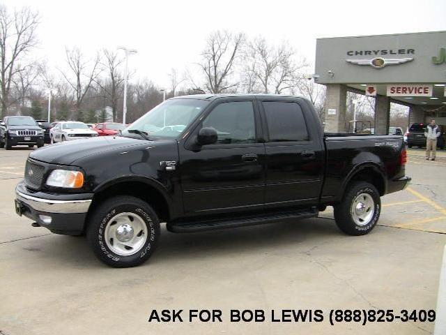 Ford F-150 Supercrew Illinois - 1 black 2001 Ford F-150 ...