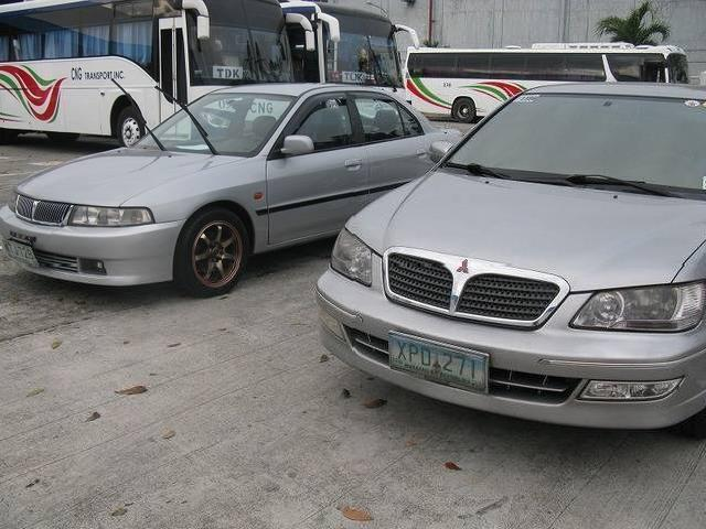 2001 lancer gls at and 2004 lancer gls mt