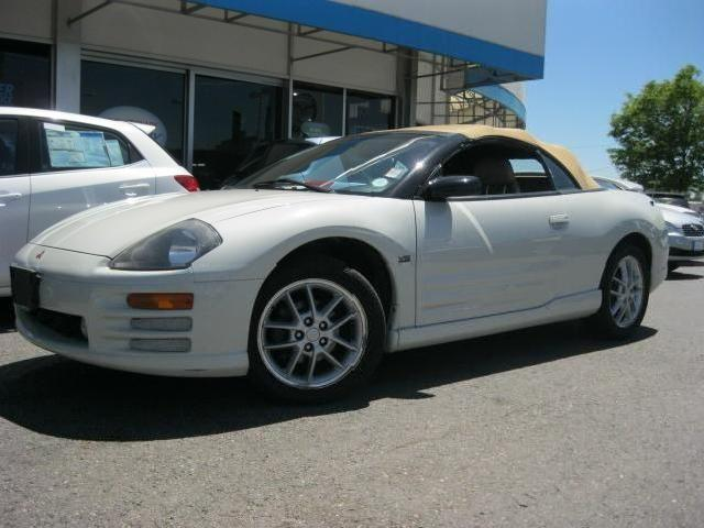 Mitsubishi Eclipse Gt In White Used Convertible Mitula Cars