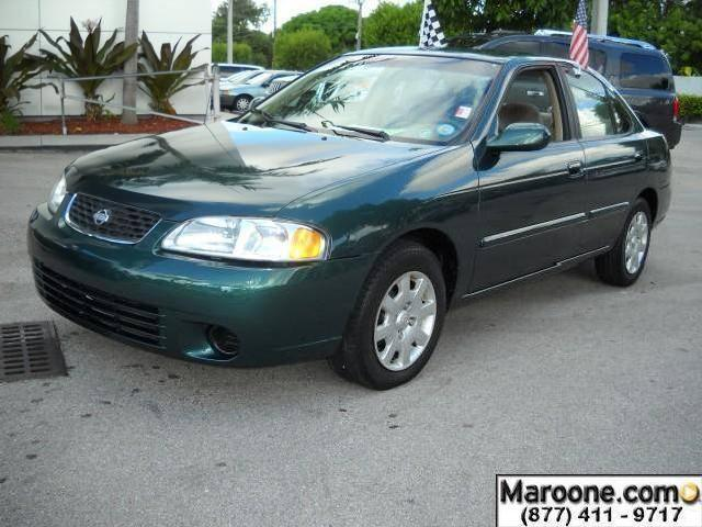 2001 nissan sentra used cars in miami mitula cars. Black Bedroom Furniture Sets. Home Design Ideas
